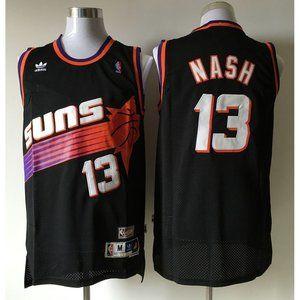 Phoenix Suns Steve Nash Black Jersey